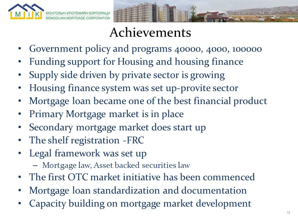 Achievements Government policy and programs 40000, 4000, 100000