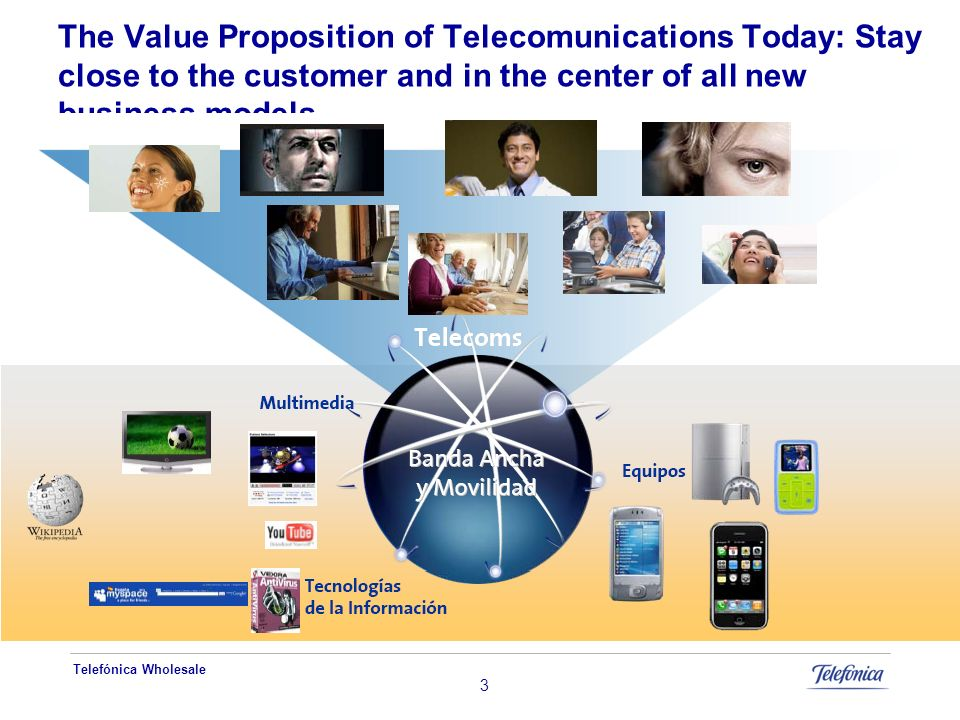 The Value Proposition of Telecomunications Today: Stay close to the customer and in the center of all new business models