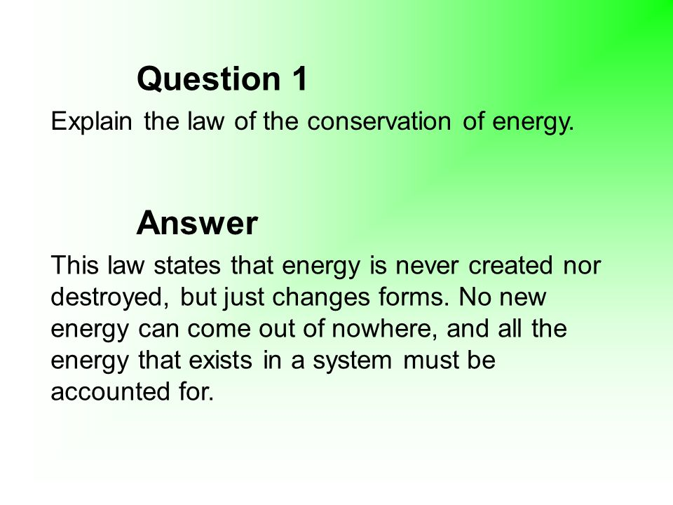 how to answer an explain question