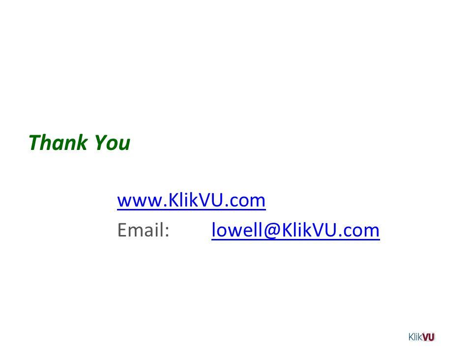 Thank You www.KlikVU.com