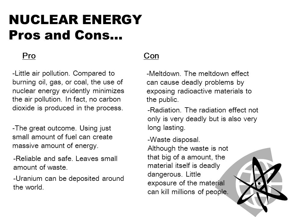 ufe0f nuclear power pros and cons essay  pro and con of