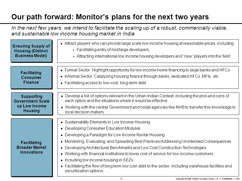 Our path forward: Monitor's plans for the next two years