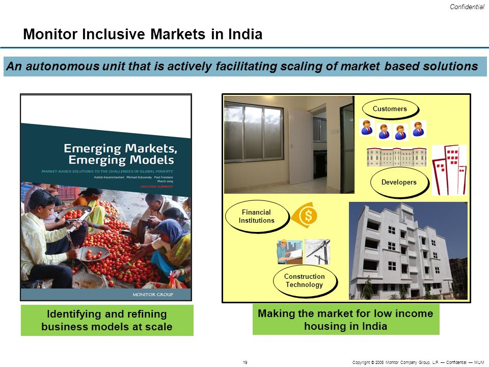 Monitor Inclusive Markets in India