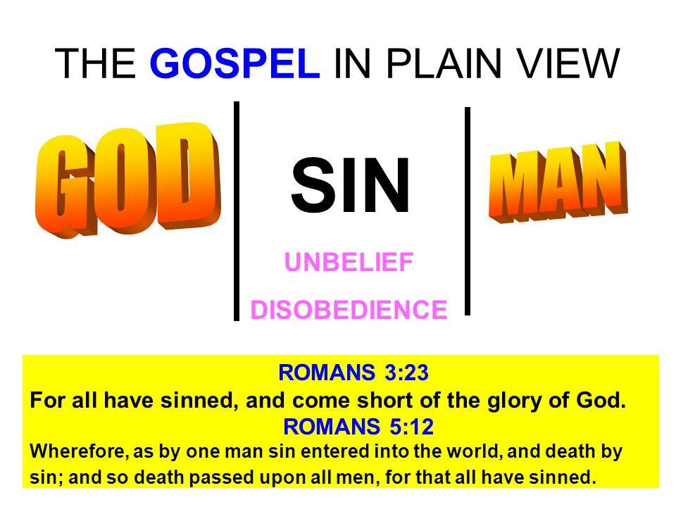 THE GOSPEL IN PLAIN VIEW