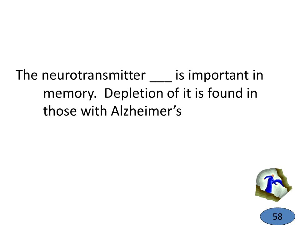 The neurotransmitter ___ is important in memory