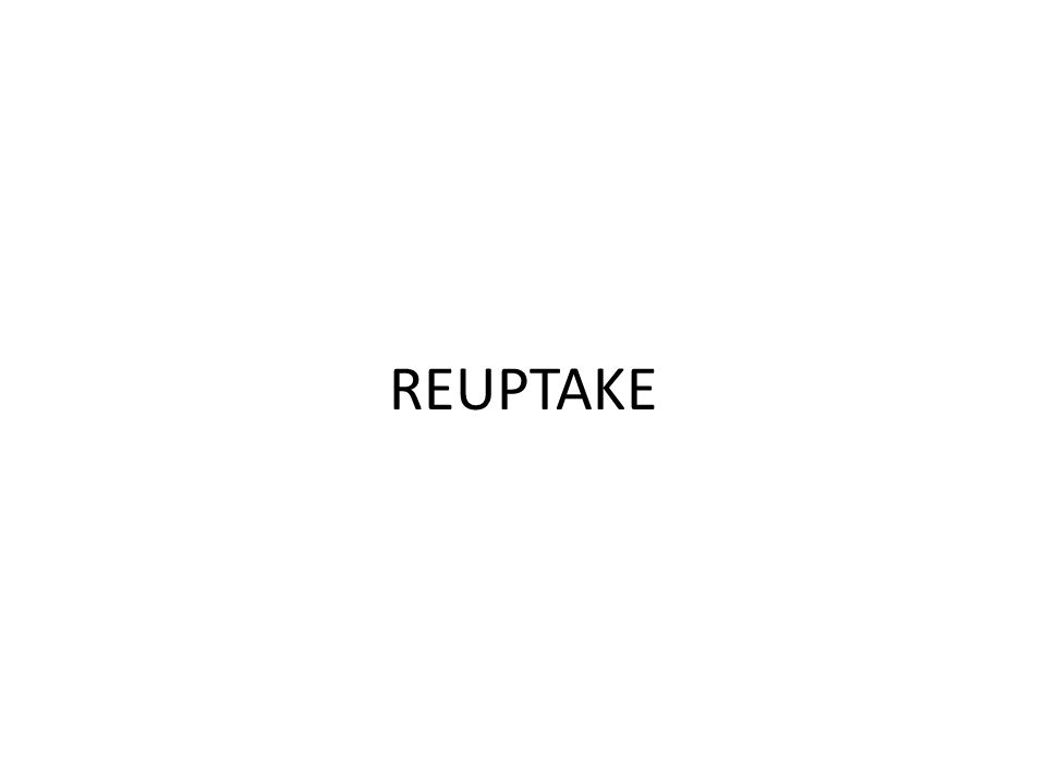 REUPTAKE