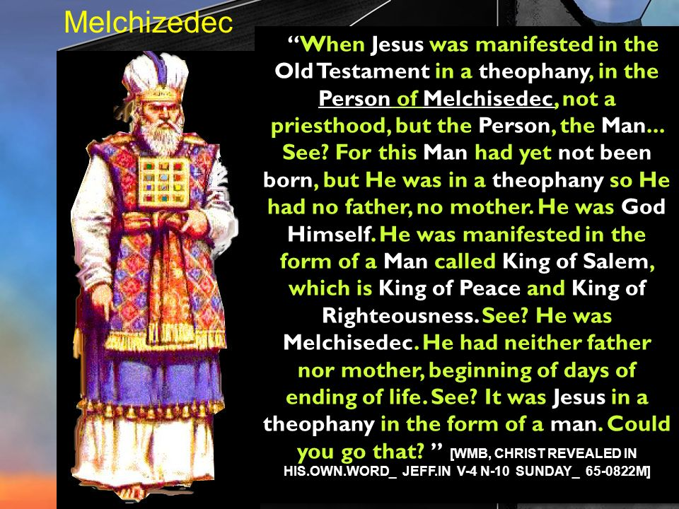 Melchizedec
