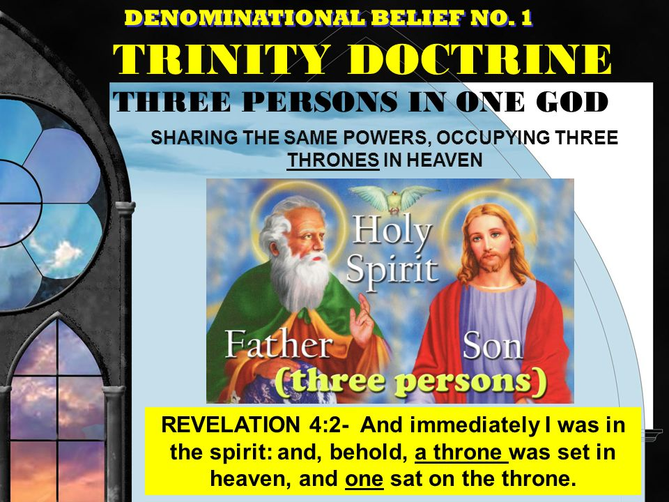 SHARING THE SAME POWERS, OCCUPYING THREE THRONES IN HEAVEN