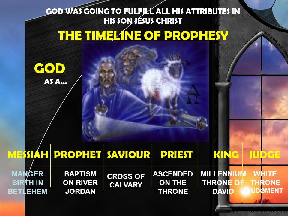 GOD AS A… THE TIMELINE OF PROPHESY