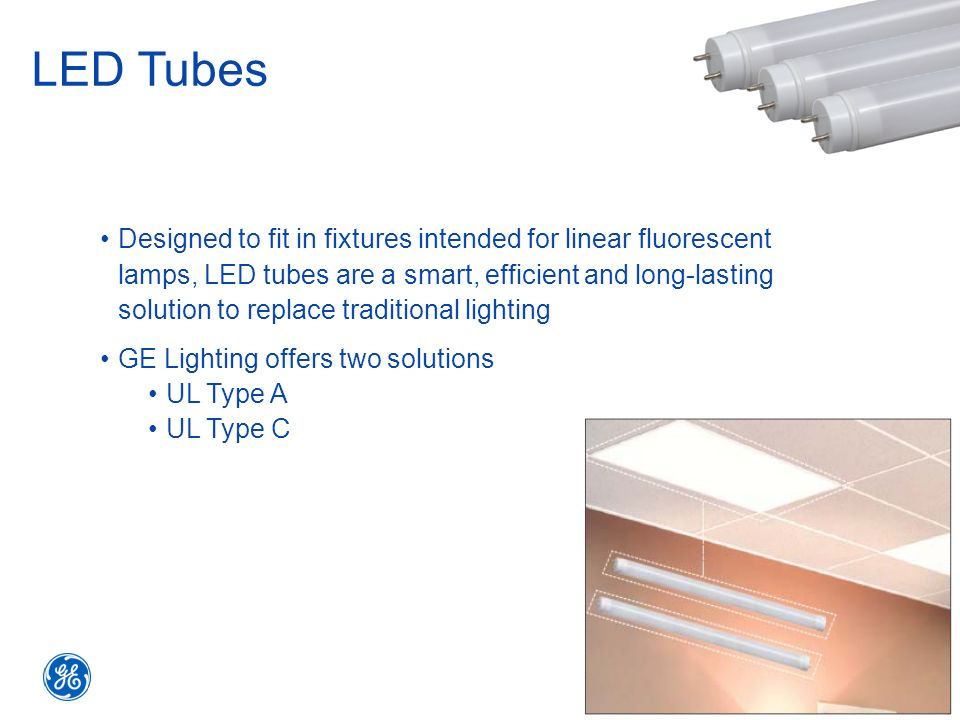 LED Tubes  sc 1 st  SlidePlayer & Selling the Advantages of LED Tubes Refit Solutions from GE - ppt ... azcodes.com