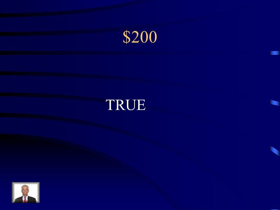$200 TRUE