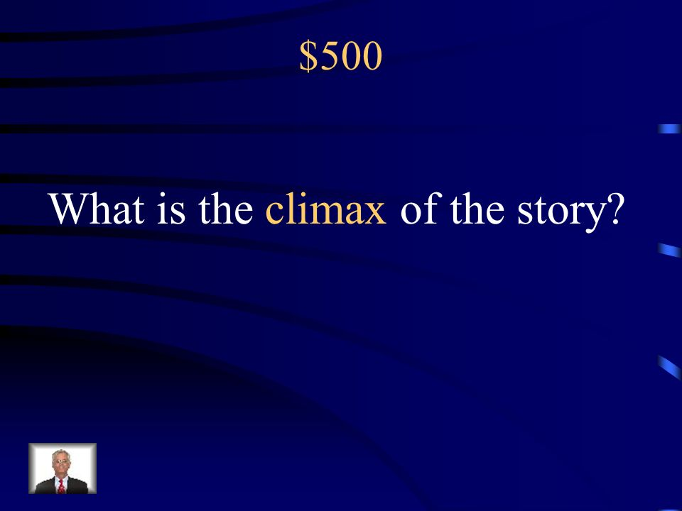 What is the climax of the story