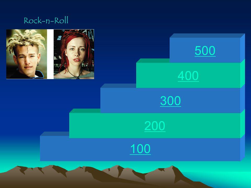 Rock-n-Roll 500 400 300 200 100