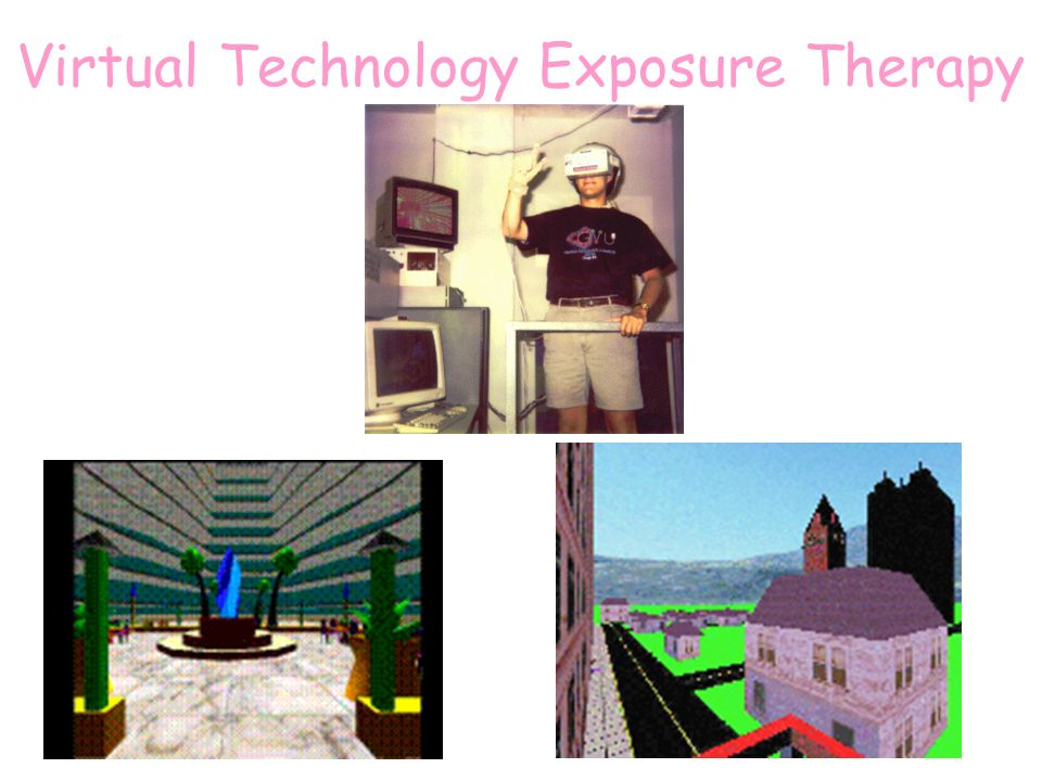 Virtual Technology Exposure Therapy