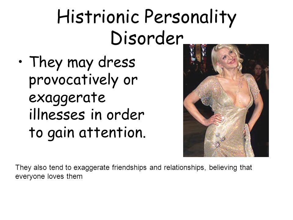 Histrionic Personality Disorder