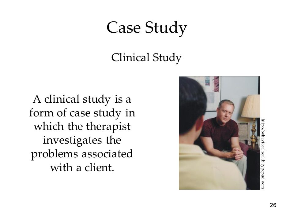 Case Study Clinical Study
