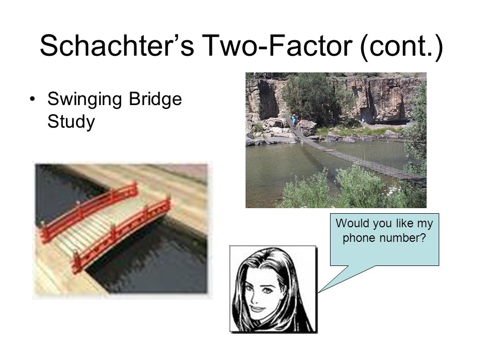 Schachter's Two-Factor (cont.)