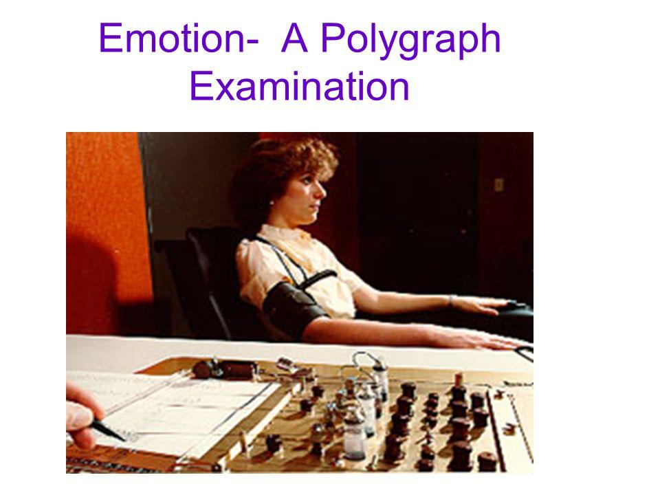 Emotion- A Polygraph Examination