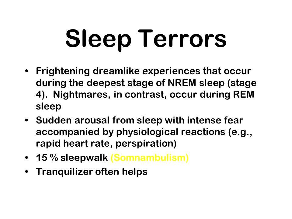 Sleep Terrors