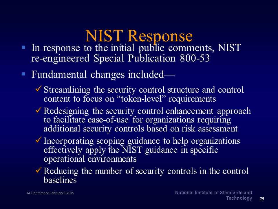 nist security standards and guidelines
