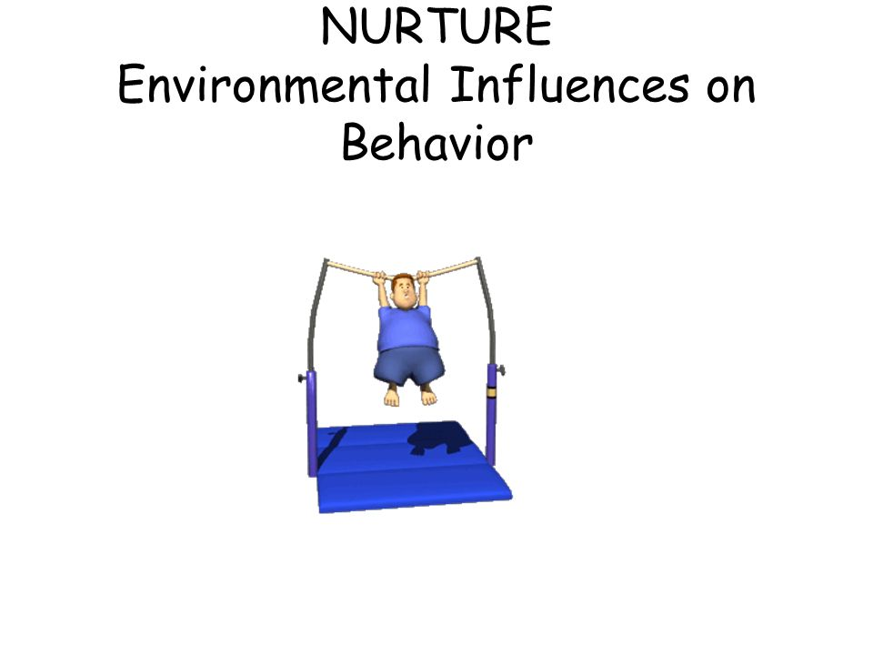NURTURE Environmental Influences on Behavior
