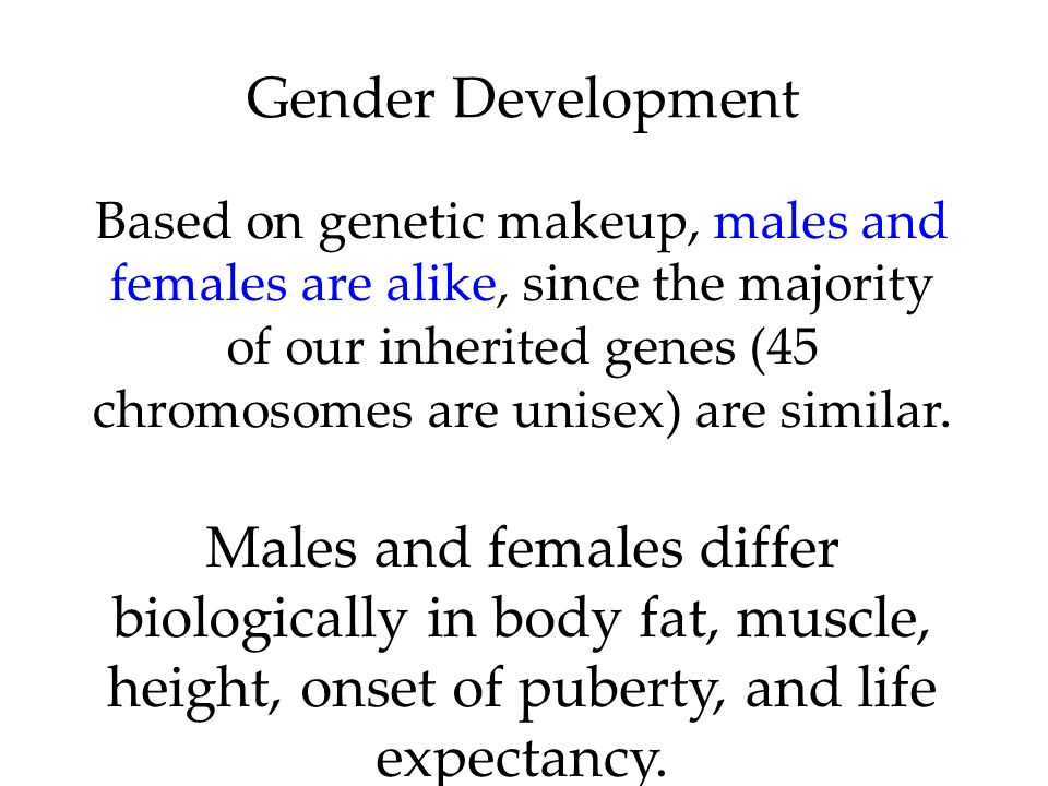 Gender Development