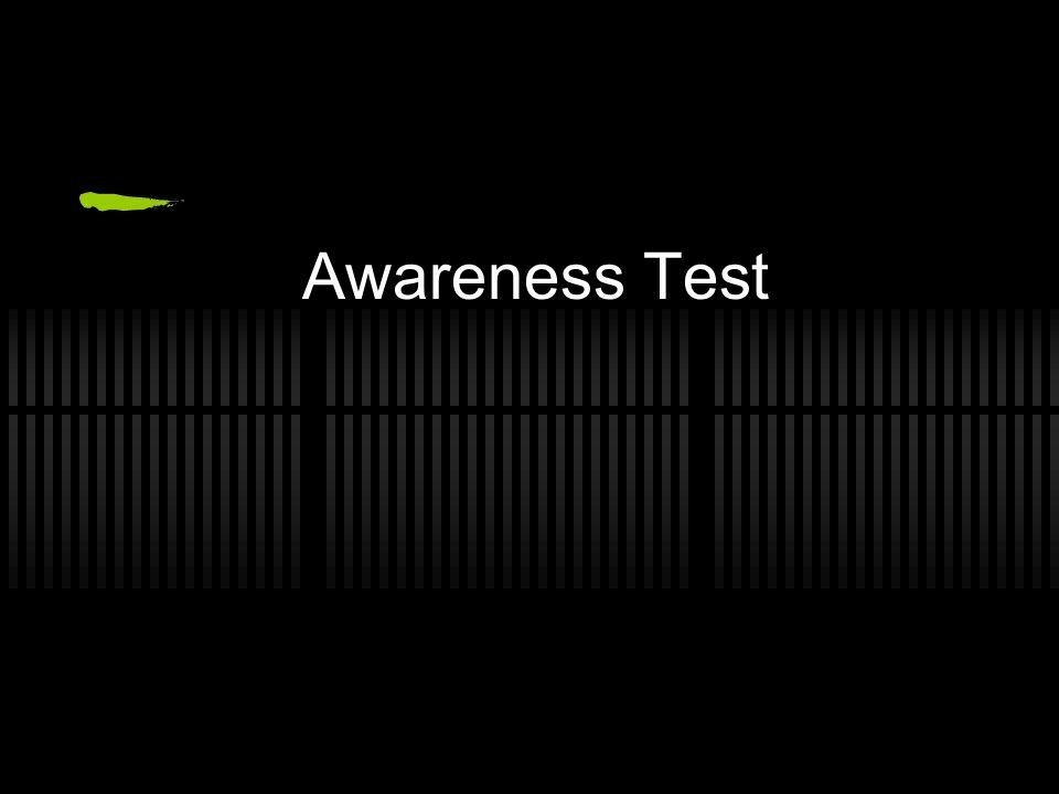 Awareness Test