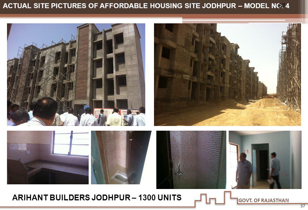 ARIHANT BUILDERS JODHPUR – 1300 UNITS