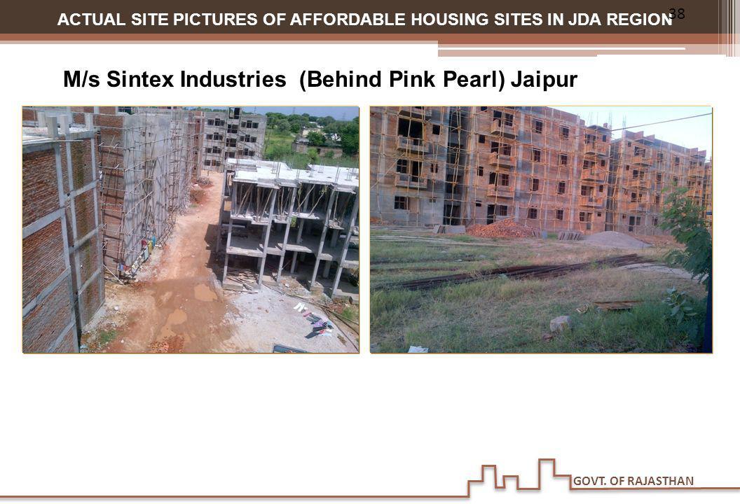 M/s Sintex Industries (Behind Pink Pearl) Jaipur