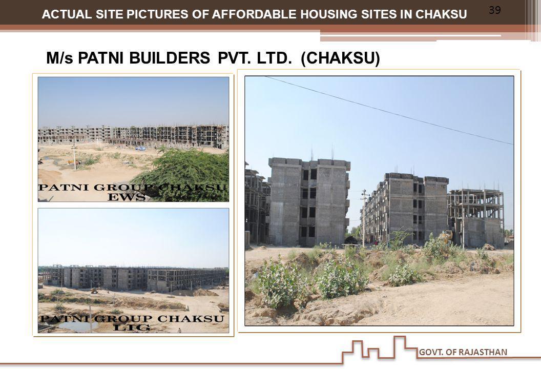 M/s PATNI BUILDERS PVT. LTD. (CHAKSU)