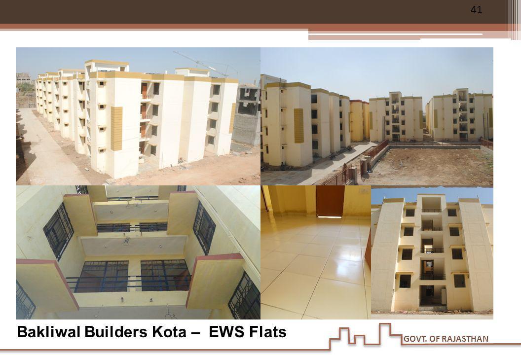 Bakliwal Builders Kota – EWS Flats