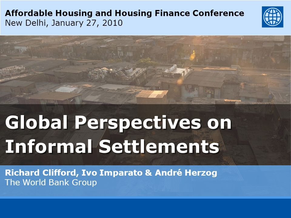 Global Perspectives on Informal Settlements