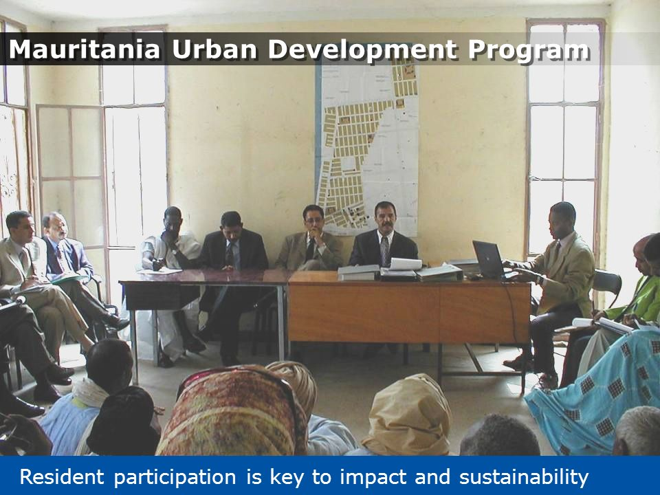 Mauritania Urban Development Program