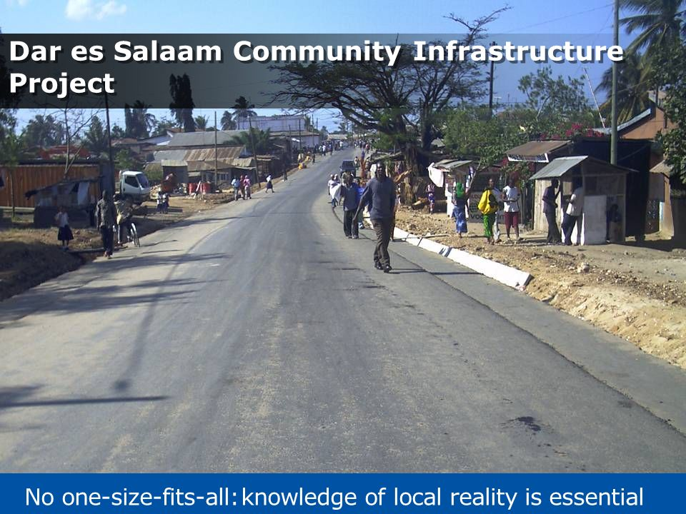 Dar es Salaam Community Infrastructure Project
