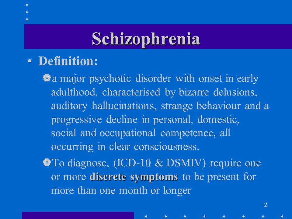 a case analysis of the characteristics and symptoms of schizophrenia Our study suggests that patients with both suicide attempts and non-suicidal self-harm represent a distinct subgroup among patients with schizophrenia and suicidal behavior with their early onset of psychotic symptoms, high rate of repeated suicidal behavior and significant treatment delay.