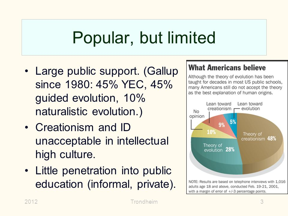 public education teaching evolution creationism and The first movement sought to prohibit the teaching of evolution in public schools altogether, and often mandated the teaching of creationism.