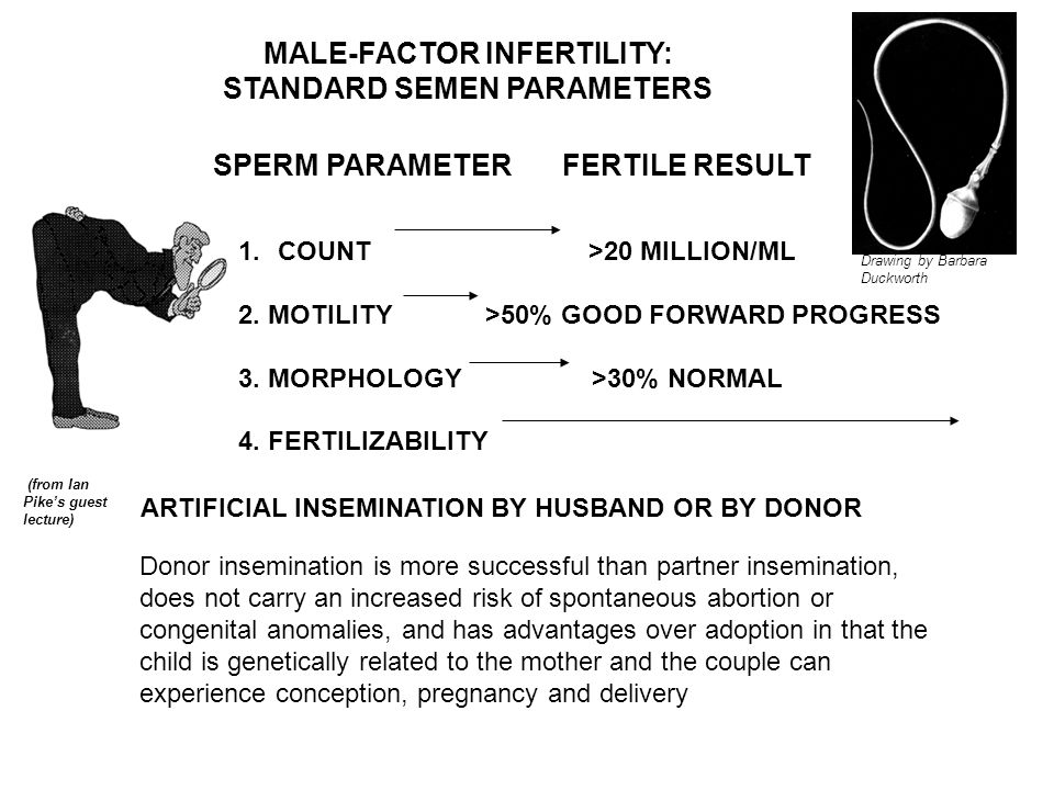MALE-FACTOR INFERTILITY:
