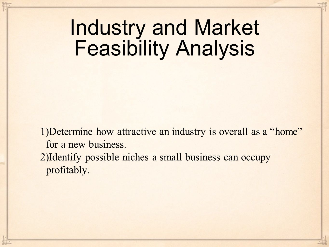Conducting a Feasibility Analysis and Crafting a Winning Business ...
