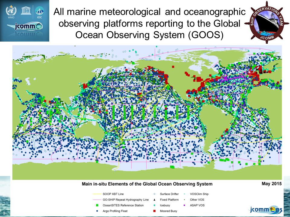 Voluntary Observing Ships Vos Wmo Observing Systems