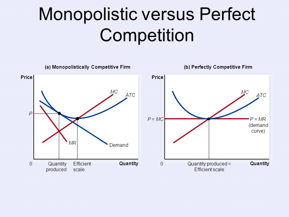 perfect competition vs monopoly essay Americans mythologize economic competition, but it's actually the opposite of capitalism if you want to create and capture lasting value, writes peter thiel, look to build a monopoly.