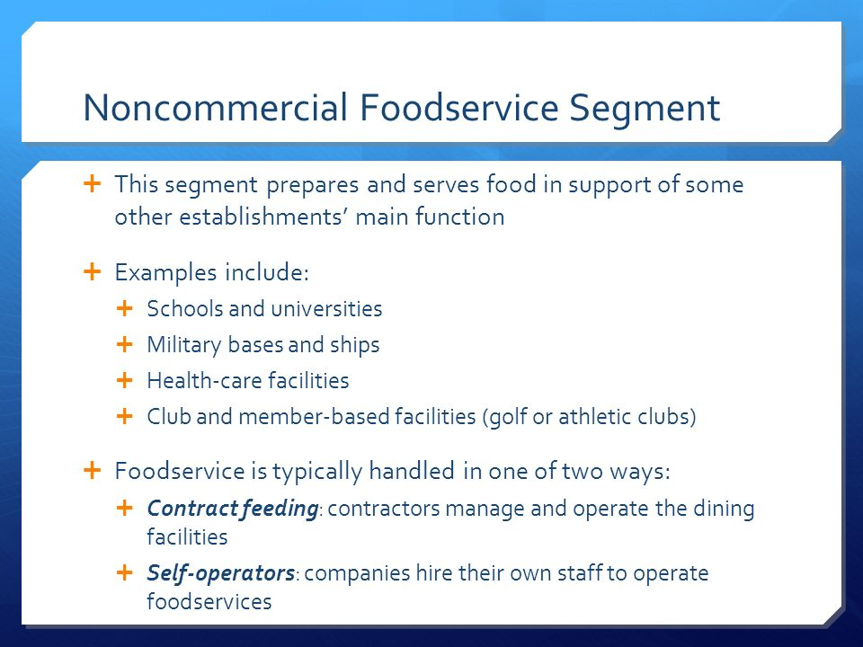 Overview Of The Restaurant And Foodservice Industry - Ppt Video