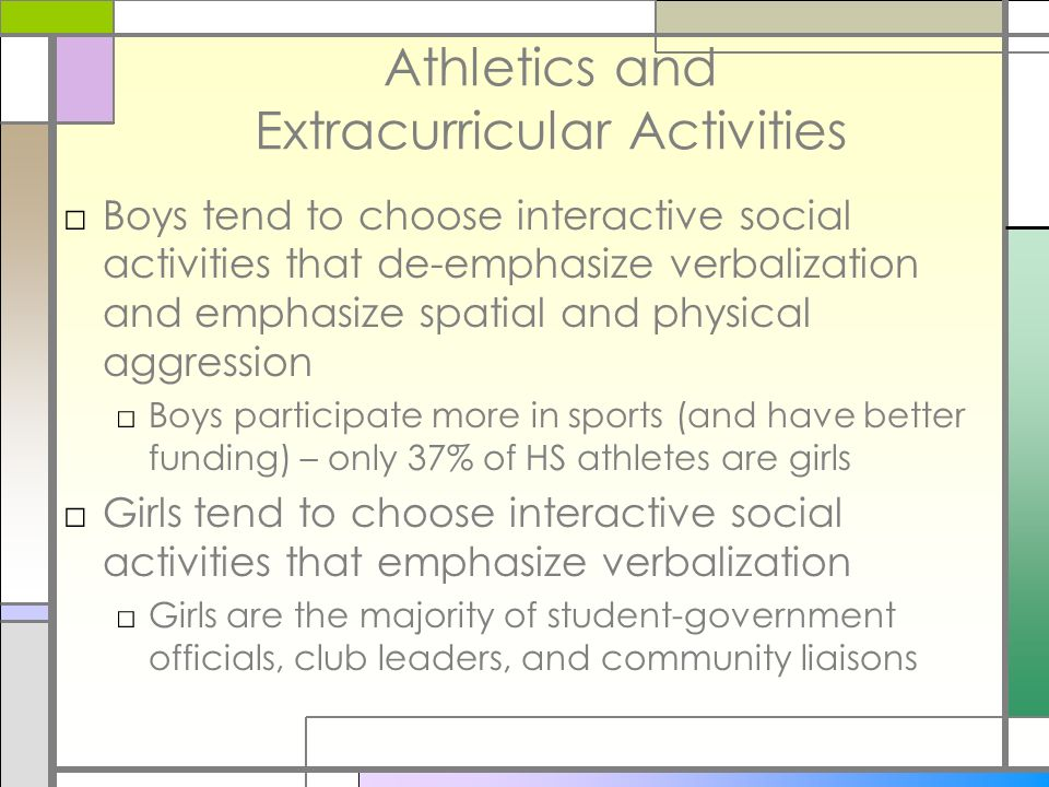 Athletics and Extracurricular Activities