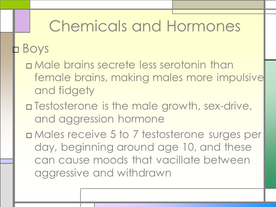 Chemicals and Hormones