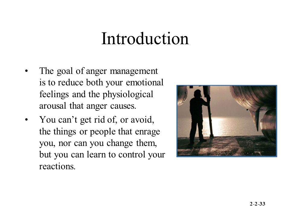 how to know if you have anger management