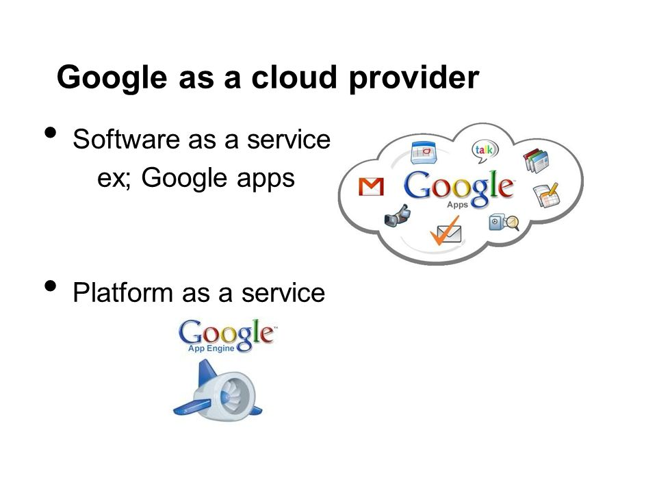 Google as a cloud provider