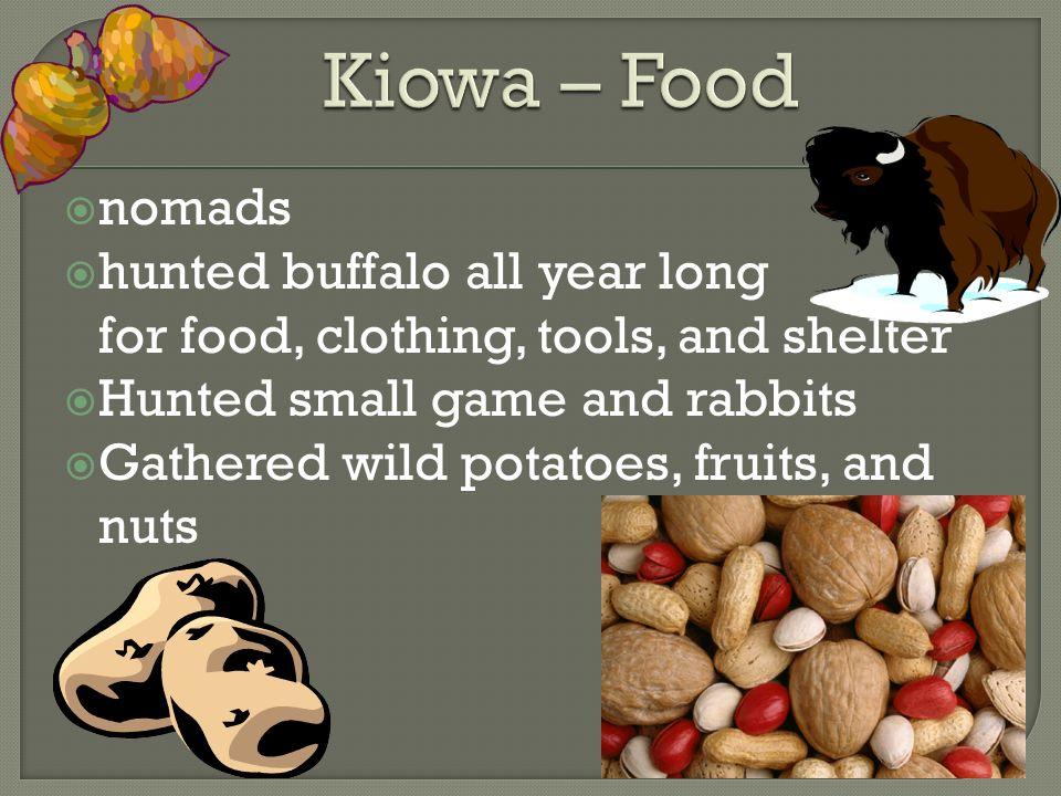 Apaches, Comanches, Kiowas, and Tonkawas - ppt download Kiowa Food