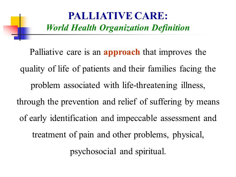 World Health Organization Definition