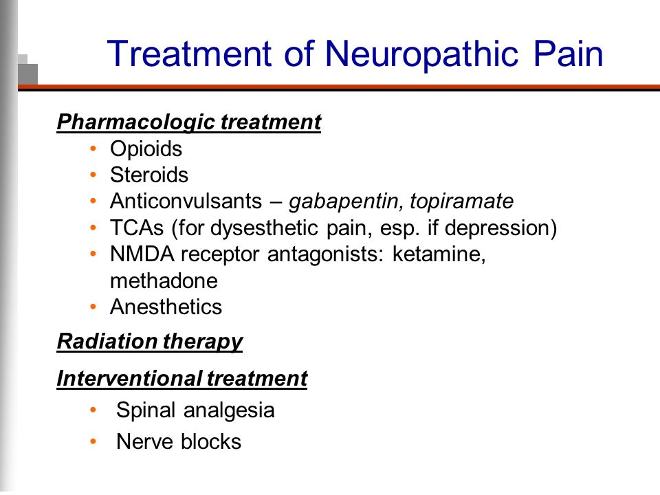 Treatment of Neuropathic Pain