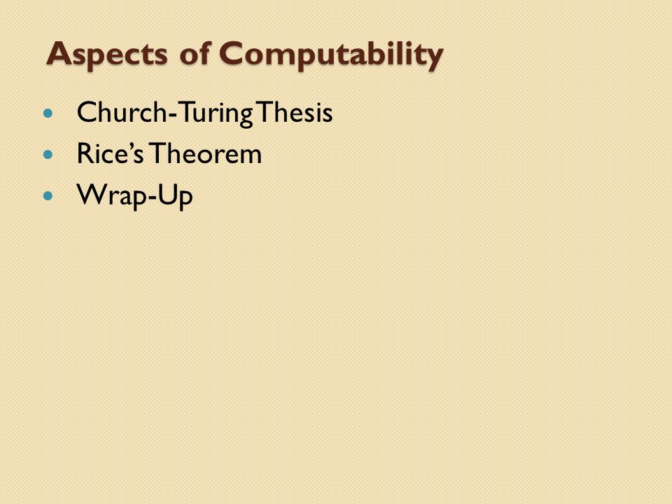 church turing thesis and non-computability 2011-01-09 impact of gödel's incompleteness theorems on a toe  or the church-turing thesis,  i was not talking about his ''proof'' of non-computability.