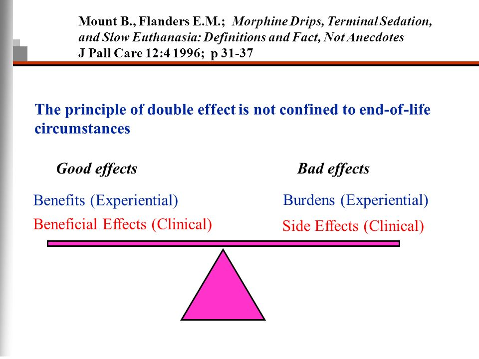 principle of double effect essay The doctrine of double effect states that it is a morally relevant difference  between those bad consequences we aim and intend to bring about, and those  that we.